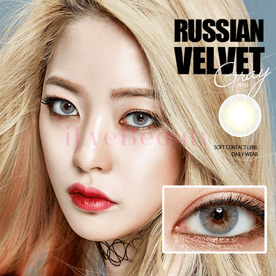 Olens Russian Velvet Gray (Monthly x 2 pieces) - iEyeBeauty