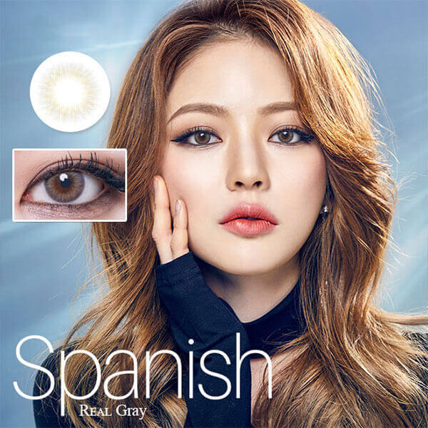 Olens Spanish Real Gray (Monthly x 2 pieces) - iEyeBeauty