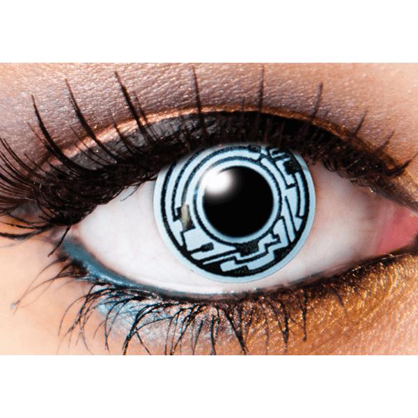 3d513e6ed68c InnoVision Cosplay Halloween Contact Lenses Cyborg (k3) - iEyeBeauty